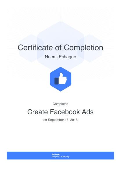Create Facebook Ads: Blueprint