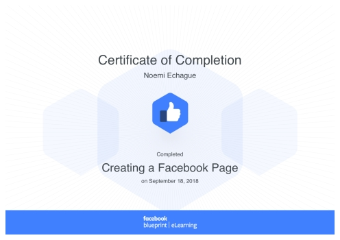 Creating a Facebook Page_ Blueprint Certificate
